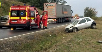 Accident la Tarnava