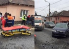 Accident grav la Copșa Mică